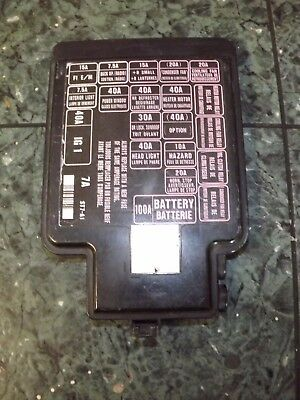 94-01 USDM Acura Integra DC DC2 DC4 DB8 engine bay fuse box lid cover  version A1 | eBayeBay