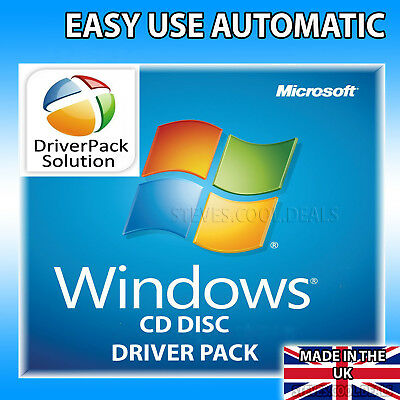 Install /& Update Drivers for Windows XP//Vista//7//8//10 PC /& Laptop Driver Pack