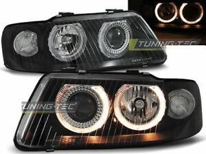 FARI-per-Audi-A3-8L-FL-00-03-Angel-Eyes-Nero-UK-RHD-LHD-lpau-22-ED-XINO