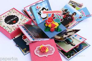 Handmade birthday anniversary gift explosion box card personalized