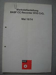 BASF-9110-Cassetten-Deck-Service-Manual
