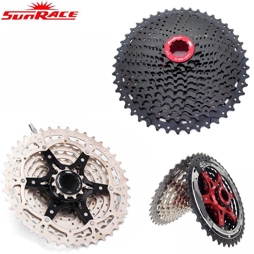 SunRace MTBRoad Bike Cassette 891011Speed Cycling Freewheel fit Shimano SRAM