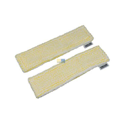 2x Microfibre Essuie-référence Indoor Batterie-Fenêtre Aspirateur Original Karcher 2.633-130.0