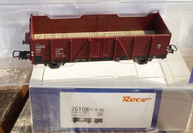 Roco 76108 einzelwagen from set Goods Wagon Open El-U (Model Villach) Dr