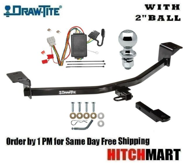 """Class 1 Trailer Hitch Tow Package W 2"""" Ball For 2010-2013"""