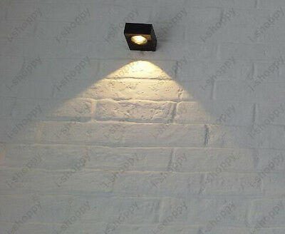 3W LED COB Wall Sconces Light Indoor Lamp Fixture Porch Bedroom Exhibtion Lobby