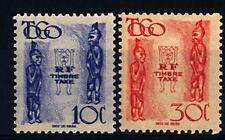 TOGO - 1947 - Segnatasse. Statuette - Idoli