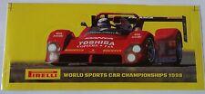 Aufkleber FERRARI 333 SP 1998 WSC Sportwagen Championship PIRELLI Sticker Decal