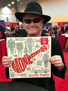 THE-MONKEES-12-034-VINYL-ALBUM-034-GOOD-TIMES-034-SIGNED-BY-MICKY-DOLENZ-TO-YOU