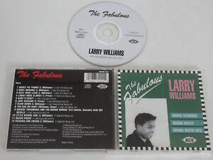 Larry Williams/The Fabulous Larry Williams (Ace Cdfab 012) CD Album