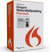 Nuance Dragon Naturally Speaking Premium 13 Mobile Includes Voice Recorder