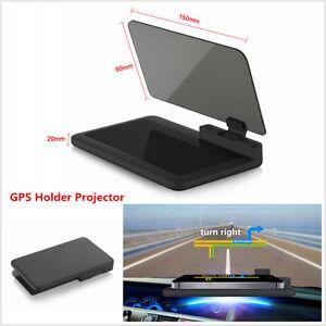 6-034-Car-HUD-Head-Up-Display-Projector-Phone-Navigation-GPS-Holder-Non-slip-Mat-H6