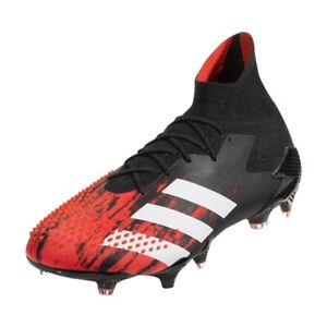 adidas-Men-039-s-Predator-Mutator-20-1-FG-Core-Black-Cloud-White-Red-EF1629