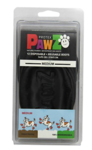 Pawz Rubber Dog Shoes Wound Relief Re-usable And Sold In Singles,2,4,8 or 12s