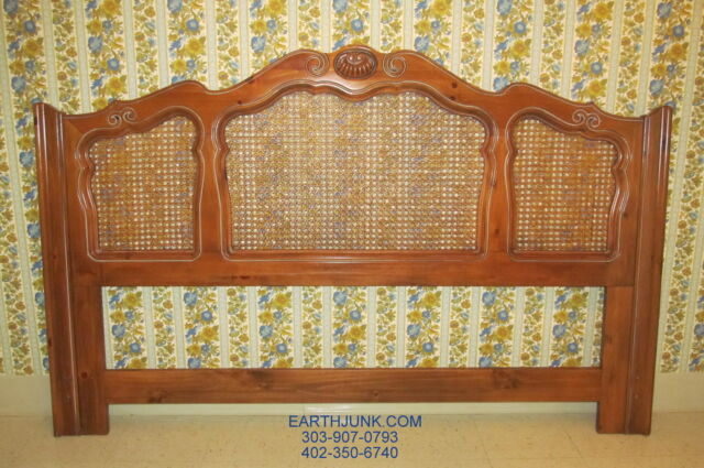 King Ethan Allen Cau Normandy Cane Headboard 17 5601 Country French