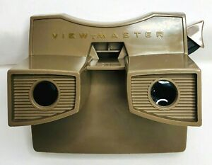 Vintage-View-Master-Brown-GAF-Corporation-Mid-Century-Collectible-Toy-Pre-Owned