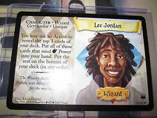 HARRY POTTER TCG GAME CARD DIAGON ALLEY LEE JORDAN 19/ 80 RARE ENGLISH MINT NEUF