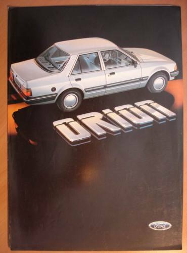 Catalogue Publicitaire Ford Orion 1983 Ridurre Il Peso Corporeo E Prolungare La Vita