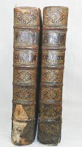 OEUVRES-DE-M-CLAUDE-HENRYS-CONSEILLER-DU-ROI-BRETONNIER-1708-2-GRANDS-VOL