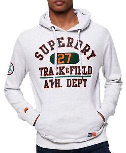 Superdry-Track-amp-Field-Logo-Overhead-Hoodie-Sweatshirt-Hooded-Top-Ice-Marl-Grey