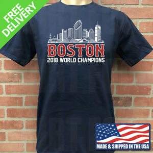 super popular 25f66 4a070 Details about BOSTON RED SOX 2018 WORLD SERIES CHAMPIONSHIP T-SHIRT