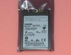 "MK1216GSG Toshiba Hard Drive HDD1F01 1.8/"" Micro SATA 120GB 5400RPM"