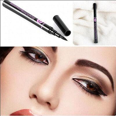 Hot Waterproof Rotary Gel Cream Eye Liner Black Eyeliner Pen Makeup Cosmetic EY