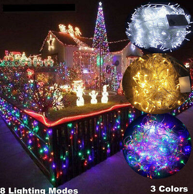 ( Ukeu ) Presa 10m 100led Luce Filo Impermeabile Per L'esterno Fata Rete