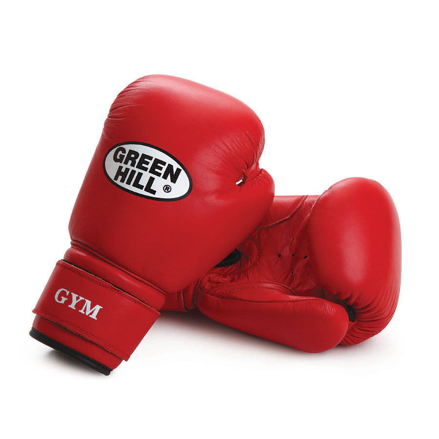 Fitness Gloves Argos: Greenhill Boxing Gloves Gym Leather Kick Bag Pad Training