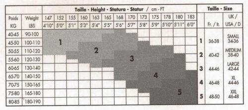 Gerbe Calze bas Altesse Straps Calze Nero Noir 1//34-36 4//44-46 20den