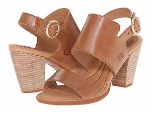 2e4fe122ed5 Image is loading Women-039-s-Born-Cindie-Sandals-D90016-Size-