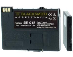 Akku für Siemens A51 A52 A55 A56 A57 A60 A62 A65 Accu Baterie