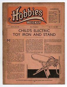 Vintage-Hobbies-Weekly-Magazine-Vol-111-No-2879-printed-in-1951