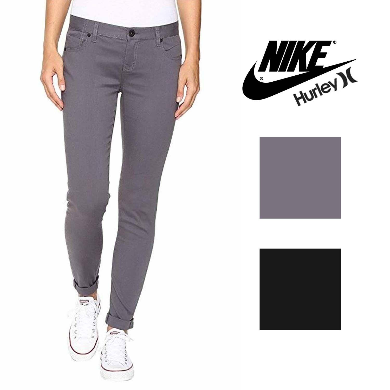 Hurley Womens Dri-FIT 81 Skinny Stretch Twill Pants