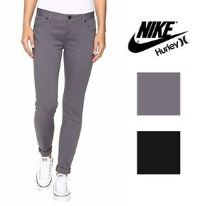 Details about Hurley Womens Dri FIT 81 Skinny Stretch Twill Pants