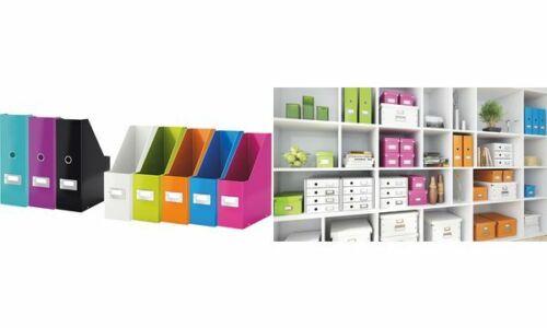Hartpappe A4 LEITZ Stehsammler Click /& Store WOW pink
