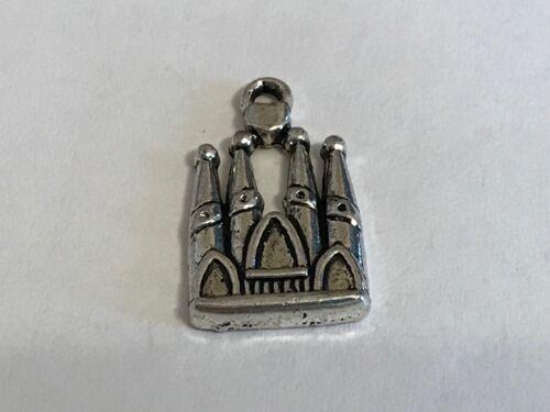 Fairytale Princess Castle Charms 3 choices Tibetan Alloy Antique Silver