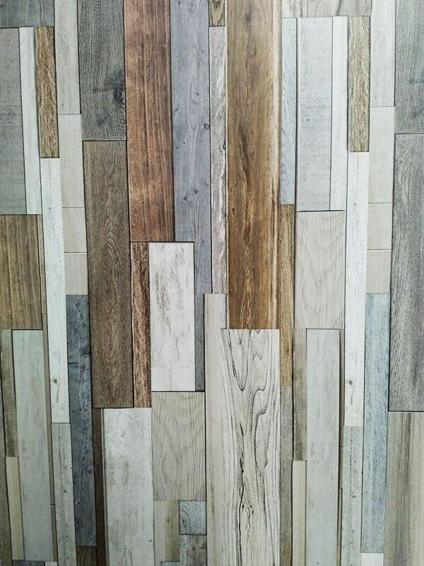 wood effect modern bathroom cladding grey white tile pvc