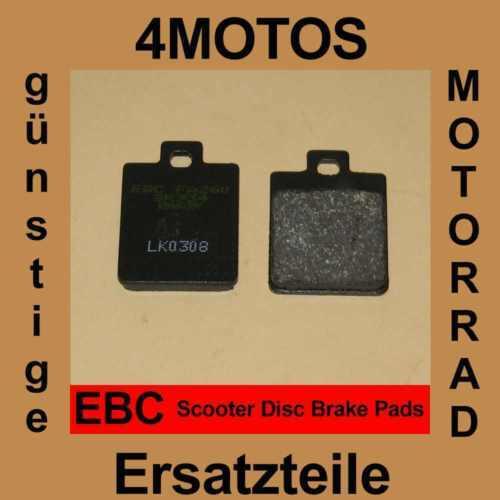 Bremsbeläge EBC Vespa LXV 125 vorne