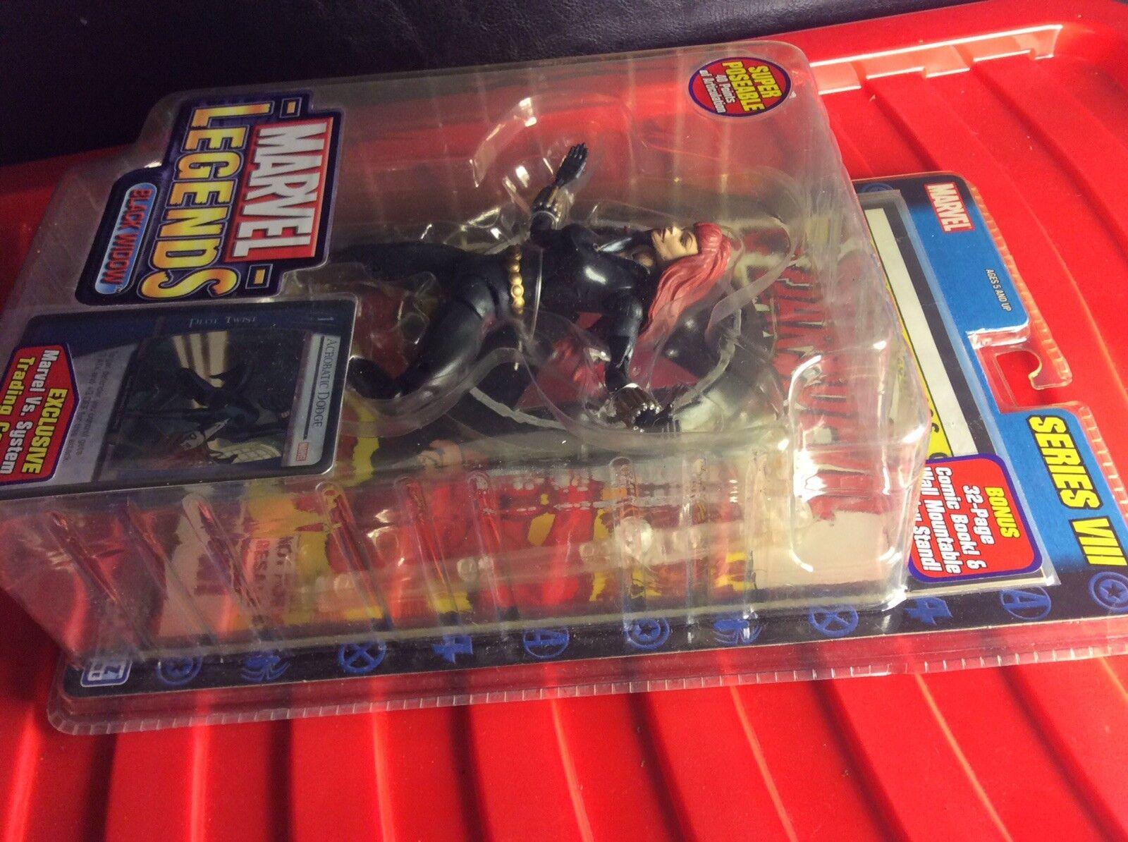 ToyBiz - Marvel Legends Series VIII - - - schwarz Widow Collector Action Figure 6b3368