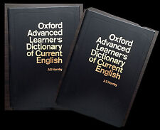 OXFORD ADVANCED LEARNER's Dictionary of Current English. Special edition. 1982