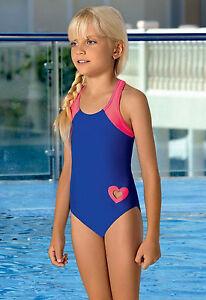 Girls Kids Swimsuit Childrens Swimwear Swimming Costume Beachwear 7