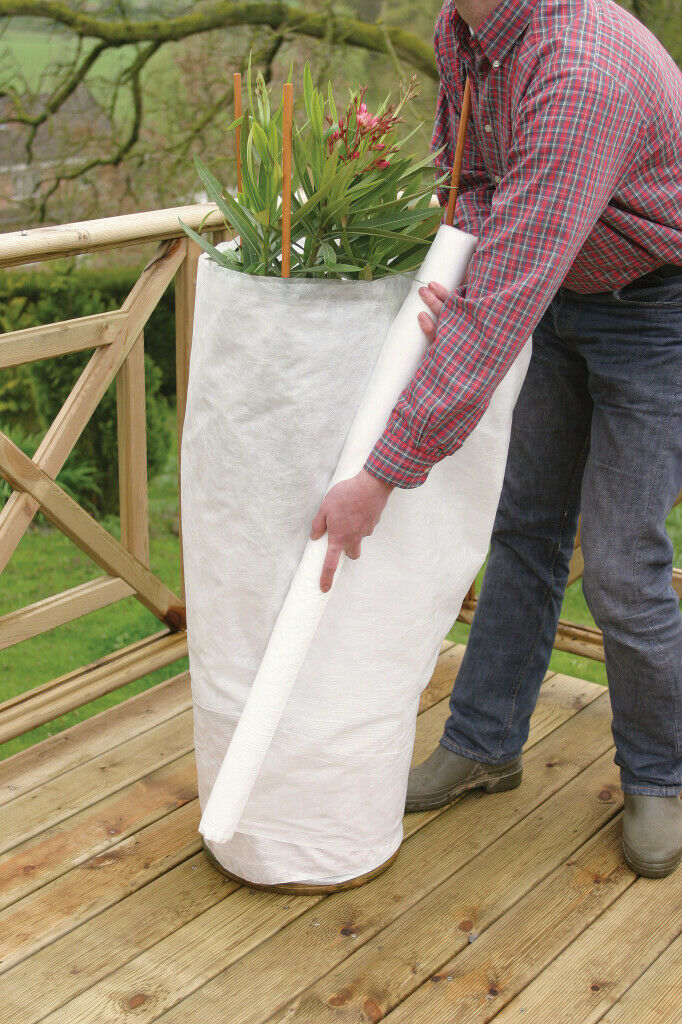 Ambassador Frost Fleece 20m x 1m Plants Bushes Winter Protection Insects Bugs