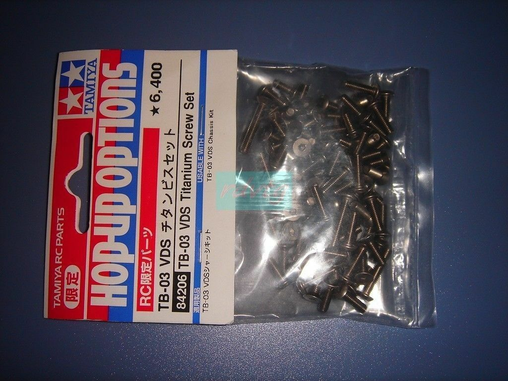 Tamiya TB-03 VDS Titanium Screw Set (84206)