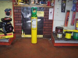 HOBBYWELD 15 ORIGINAL WELDING GAS MIG SHIELDING GAS REFILL BOTTLE SALE ONLY