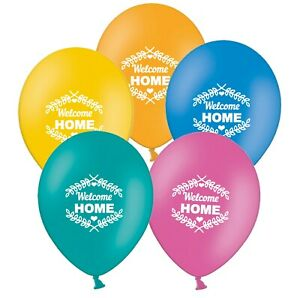 Welcome-Home-Laurels-12-034-Assorted-Printed-Latex-Balloons-pack-of-6