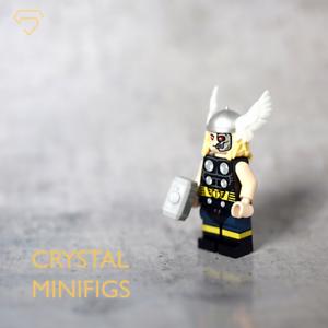 perfecto Nuevo Cristal Minifigs a Medida Thor Lego Lego Lego Minifigura  tienda de venta