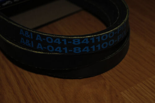 Replacement for BAD BOY MOWER BELT # 041-8411-00 with KEVLAR REINFORCEMENT