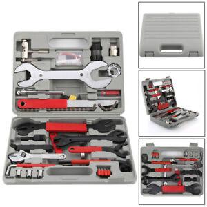 NEU 44 tlg Set Fahrrad Werkzeug Reparatur MTB Bike Tool Box Satz Werkzeugkoffer