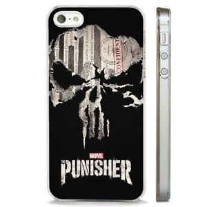 coque iphone 8 the punisher logo